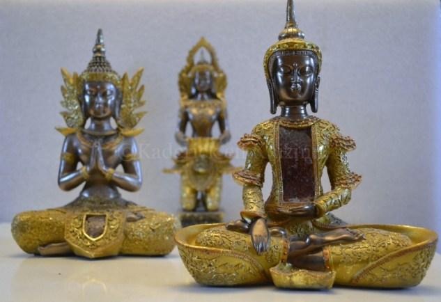 """Photo des statues de Bouddha en perspective pour le thème du projet photo """"vivre la photo"""""""