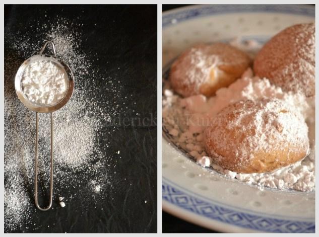 Recette petit prix - Sablés aux amandes et passoire de sucre glace pour le goûter