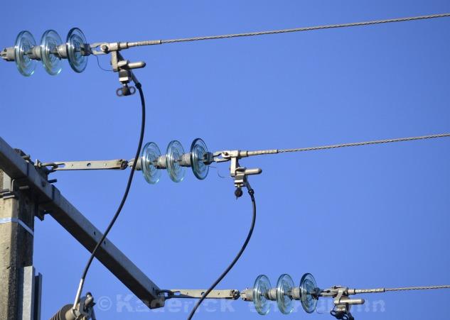 Photo d'un isolateur de ligne à haute tension pour le projet 52 du blog vivre la photo