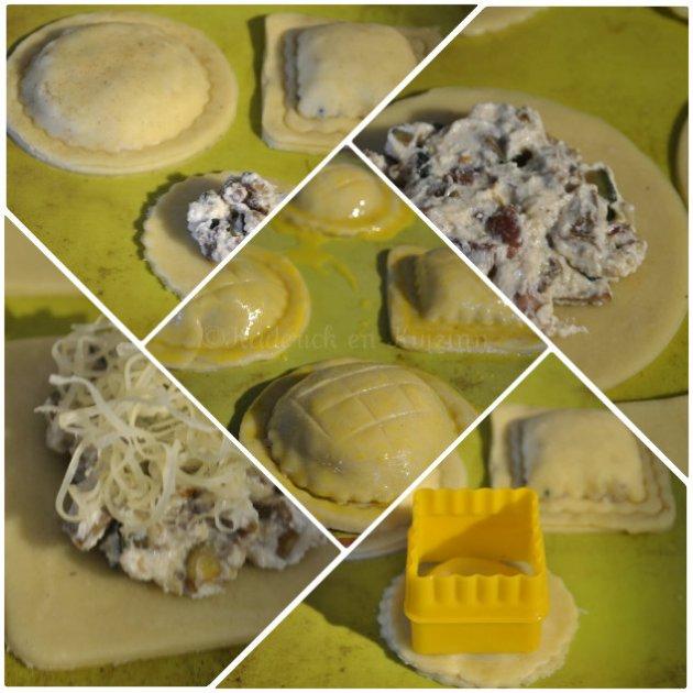 Préparation des chaussons pour Culino Versions avec une pâte brisée maison et des légumes bio