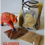 La ronde des Epices offert par mon partenaire l'île aux épices avec du gingembre confit, cumin...