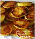 Présentation pomme terre bio rissolées à la plancha pour accompagner une viande ou un poisson
