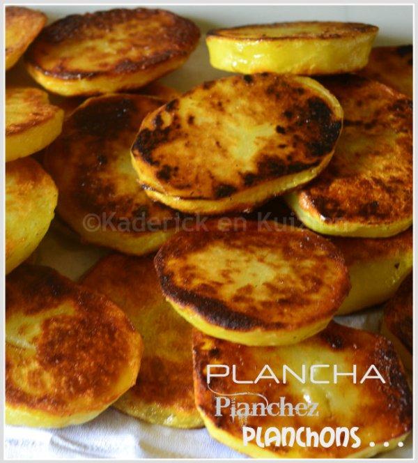 Présentation plancha pomme terre bio rissolées à la plancha pour accompagner une viande ou un poisson