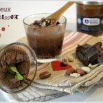 Recette des moelleux au chocolat avec un coeur de caramel aux cacahuètes