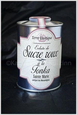 Partenariat condiment - Sucre Roux à la fève tonka de Terre exotique