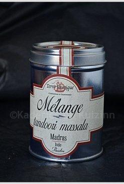 Tandori massala du partenaire Terre exotique s'utilise en marinade