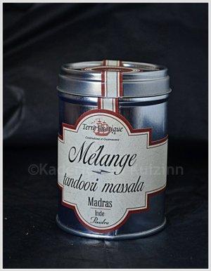 Partenariat condiment - Tandori massala de Terre exotique s'utilise en marinade