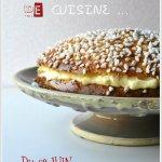 Tarte tropezienne 1er concours de cuisine sur mon blog pour ses 2 ans