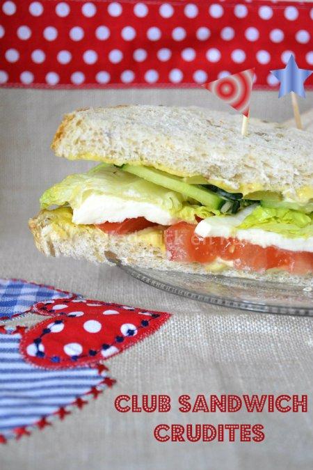 Dégustation du club sandwich aux crudités Warburtons un produit Anglais qui arrive en France
