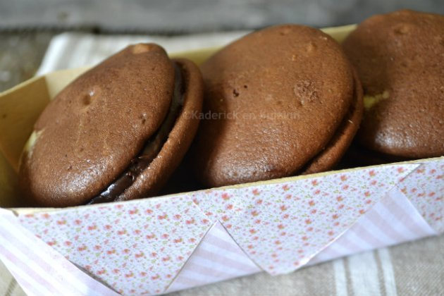 Recette Whopie pies Chocolat-Cannelle de mon partenariat Zaabär chocolatier suisse