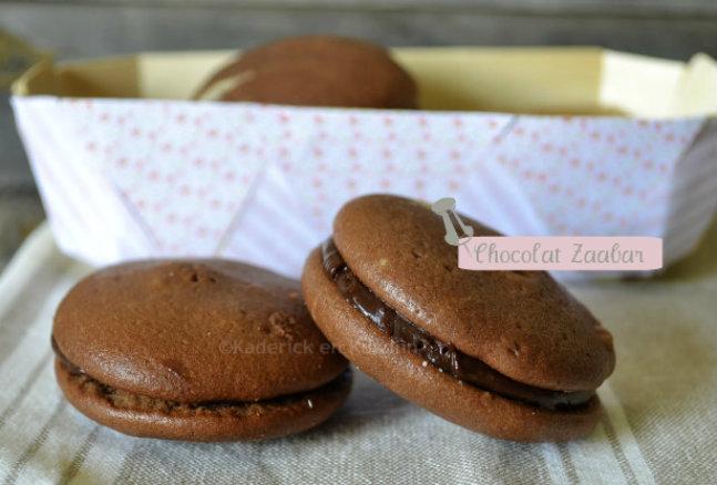 Recette Whoopie pies ganache Chocolat-Cannelle de mon partenariat Zaabär chocolatier suisse
