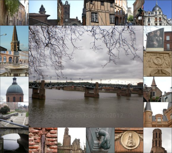 Photos de Toulouse prisent par Eric et moi - Kaderick en Kuizinn©