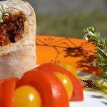 Recette roulés de dinde au chorizo, tomates séchées et mozzarella avec une sauce vierge du livre Masterchef d'Elisabeth Solar - Kaderick en Kuizinn©