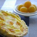 Recette de tartelette aux mirabelles bio et crème - Kaderick en Kuizinn©