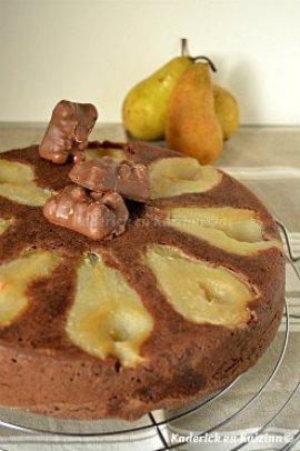 Ingrédients moelleux chocolat aux petits oursons guimauve® et poires bio - Kaderick en Kuizinn©