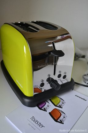 Paranello mon nouveau partenariat avec ce grille pain toaster - Kaderick en Kuizinn©