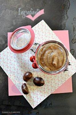 Recette de la crème de marron fait maison pour une recette d'enfance - Kaderick en Kuizinn©