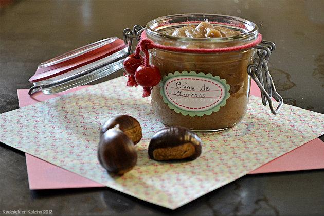 Recette de la crème marron à la vanille fait maison pour une recette d'enfance - Kaderick en Kuizinn©