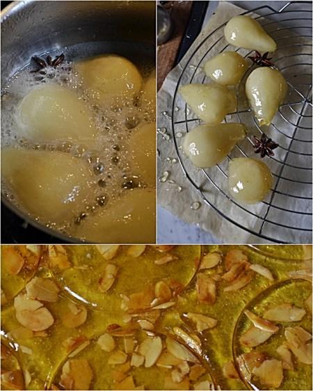 Recette demi sphère chocolat à la poire et crème de marron avec des éclats de nougatine pour un dessert de Fêtes - Kaderick en Kuizinn©