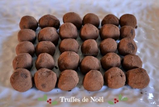 Recette des truffes de Noël au chocolat cardamome {Cadeaux Gourmands} jour 12 calendrier de l'avent - Kaderick en Kuizinn©