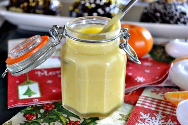 Recette du curd aux clémentines bio pour garnir les boules de Noël en chocolat - Kaderick en Kuizinn©2012