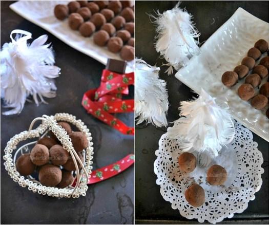 Recette des truffes de Noël au chocolat cardamome {Cadeaux Gourmands} - Kaderick en Kuizinn©2012