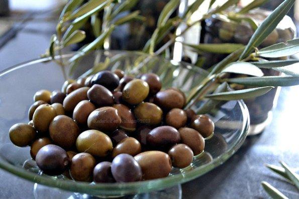 Recette des olives vertes et noires de mon jardin fait maison en saumure - Kaderick en Kuizinn©2013