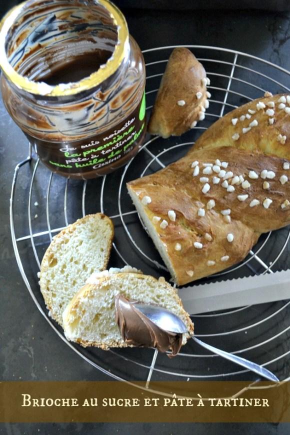 Recette de la brioche sucre perlé & pâte à tartiner de Casino sans huile de palme - Kaderick en Kuizinn©2013