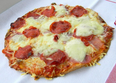 Tortilla-pizza