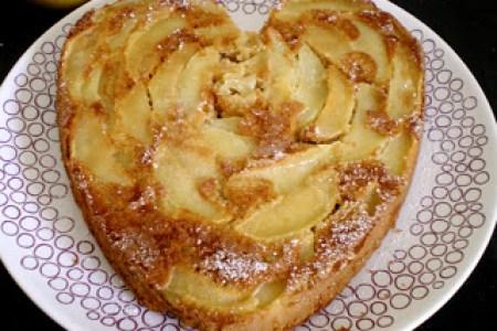 Gâteau compote de pommes 3