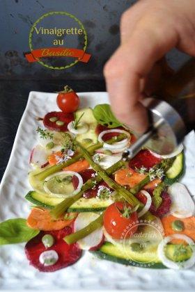 Recette de cuisine tartare légumes de printemps