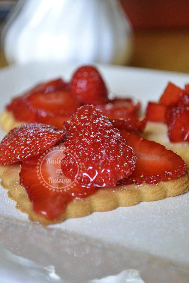 Recette facile tartelettes sablées aux fraises
