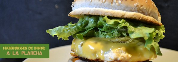 Recette plancha hamburger de dinde en slider