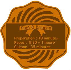 Badge pain de campagne à la farine de seigle - Recette boulangerie avec cette miche de pain de campagne