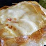 Cuisson brick au saumon fumé en tarte carrée - Recette de cuisine pour un plat du jour
