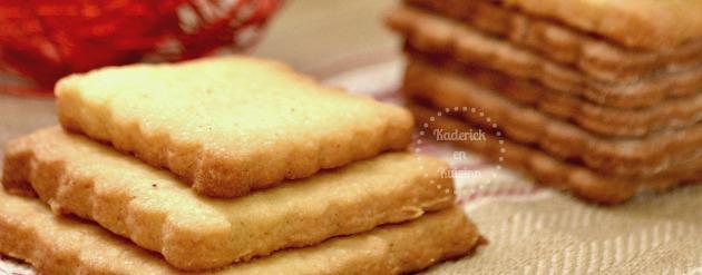 Recette facile des sablés au bon goût d'anis et de pastis pour un goûter