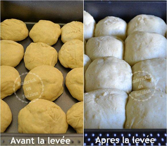 Préparation de la brioche buchty au mascarpone - Recette de cuisine pour une brioche moelleuse