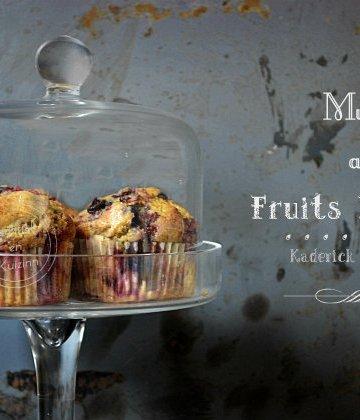 Dégustation des muffins facile aux fruits rouges de Donna Hay