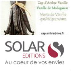 Logo partenariat cap d'ambre vanille et Solar