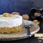 Recette du cheesecake au roquefort et noix pour Culino Versions