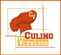 Logo de Culino Versions, un blog participatif ou un thème est donné chaque mois et les participants proposent leur recette