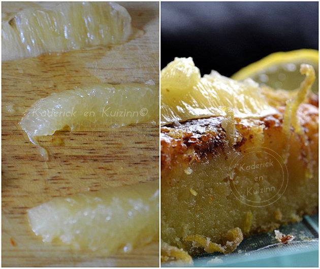 Technique pour découper les segments d'un citron bio après l'avoir peler vif