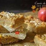 Recette des carrés de céréales aux pommes et ananas