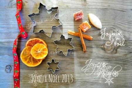 Carte Joyeux Noel 2013 aux épices de kaderick en kuizinn