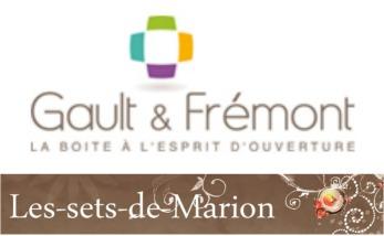 Logo partenariat Gault Fremont et les sets de Marion