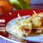 Recette blancs de poulet à la réduction d'agrumes, citron et clémentine - recette de cuisine facile