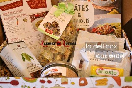 Deli Box globle cooking avec des produits offerts en partenariat - blog de cuisine