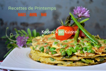 Dossier recettes printemps Kaderick en Kuizinn