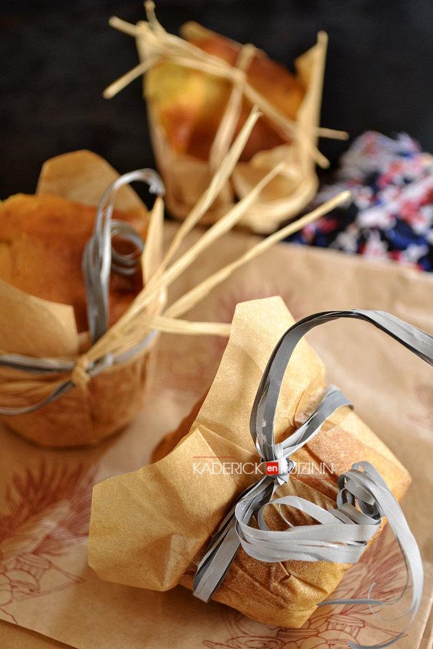 Goûter des enfants muffins à la purée de citrouille bio et noix pécan - recette de goûter