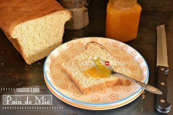 Recette pain mie moelleux et aérien à la machine à pain - recette boulangerie